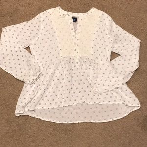 The children's place girls blouse. Size L 10-12